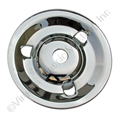 65-67 *CHROME* STYLED STEEL WHEEL SPARE MOUNTING PLATE