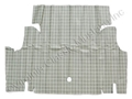 65-66 Mustang Coupe and Convertible Trunk Mat - Plaid