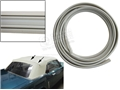 65-73 MUSTANG TWO PIECE PLASTIC CONVERTIBLE TOP REAR BOW TRIM - WHITE