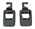 70 SEAT BELT SHOULDER HARNESS ANCHOR BOLT COVERS-RH AND LH PAIR
