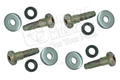 68-73 (AFTER 2-29-68) FRONT SEAT BELT BOLT SET (4 BOLTS AND 8 WASHERS)
