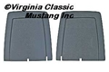 72-73 FRONT SEAT BACK TRIM PANELS-PAIR