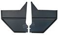 67-68 COUPE/FASTBACK KICK PANELS-PAIR BLACK - SHOW QUALITY 100% EXACT STYLE