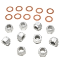 65-73 V8 DIFFERENTIAL MOUNTING  NUTS AND WASHERS-SET OF 20