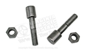REAR LEAF SPRING CENTERING BOLTS WITH NUTS- SET OF 2