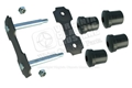 "66-73 REAR OF REAR LEAF SPRING SHACKLE KIT - 1 SIDE (1/2"" RODS)"