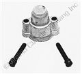 POWER STEERING CONTROL VALVE END CAP WITH SCREWS