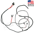 65 Mustang V8 Gauge Feed Wiring Harness - Alternator and lamps - 2 spd heater motor