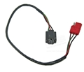 67-68 Mustang Headlamp Extension Wire and Plug - Red Plug