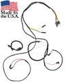 65 Mustang V8 Gauge Feed Wiring Harness - Alternator and lamps - 3 spd heater motor