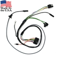 65 TWO SPEED WINDSHIELD WIPER SWITCH TO MOTOR UNDERDASH WIRING HARNESS