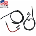 70-71 HEAVY DUTY BATTERY AND STARTER CABLE SET