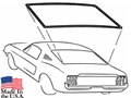 67-68 Mustang Fastback Rear Window Weatherstrip