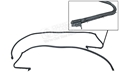 69-70 FASTBACK ROOF RAIL WEATHERSTRIP-PAIR