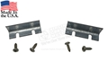 65-66 Firewall Weatherstrip End Brackets - Pair
