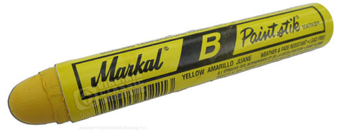 YELLOW MARKAL PAINT MARKER