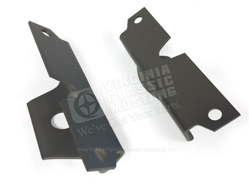 65-early 66 HiPo Mustang and GT350 Upper Motor Mount Brackets - Pair