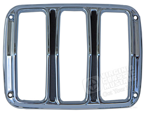 65-66 CHROME TAIL LIGHT DOOR BEZEL