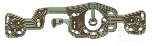 69-70 INSTRUMENT PANEL PRINTED CIRCUIT BOARD FOR USE ON MUSTANG WITH FACTORY TACH