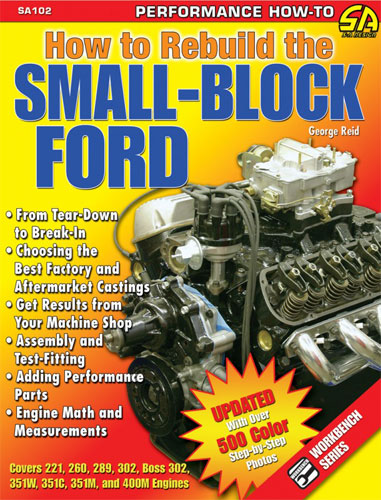 HOW TO REBUILD THE SMALL BLOCK FORD BOOK