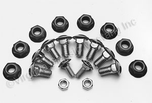 65-68 BUMPER BOLT KIT