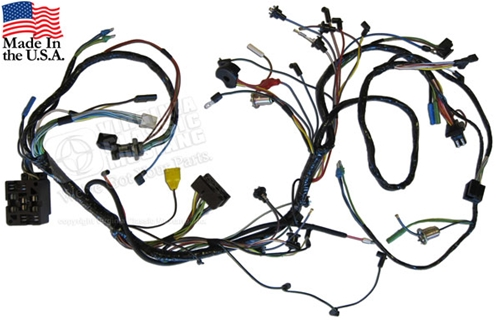 66 UNDER DASH WIRING HARNESS **NO CORE REQUIRED**