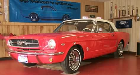 Virginia Classic Mustang showroom