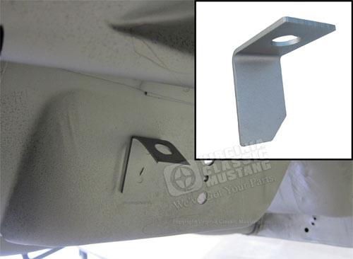 65-66 Mustang Interior Floor Cross Brace Support Bracket FRONT