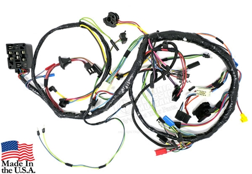 67 Mustang Under Dash Wiring Harness - with factory tachVirginia Classic Mustang